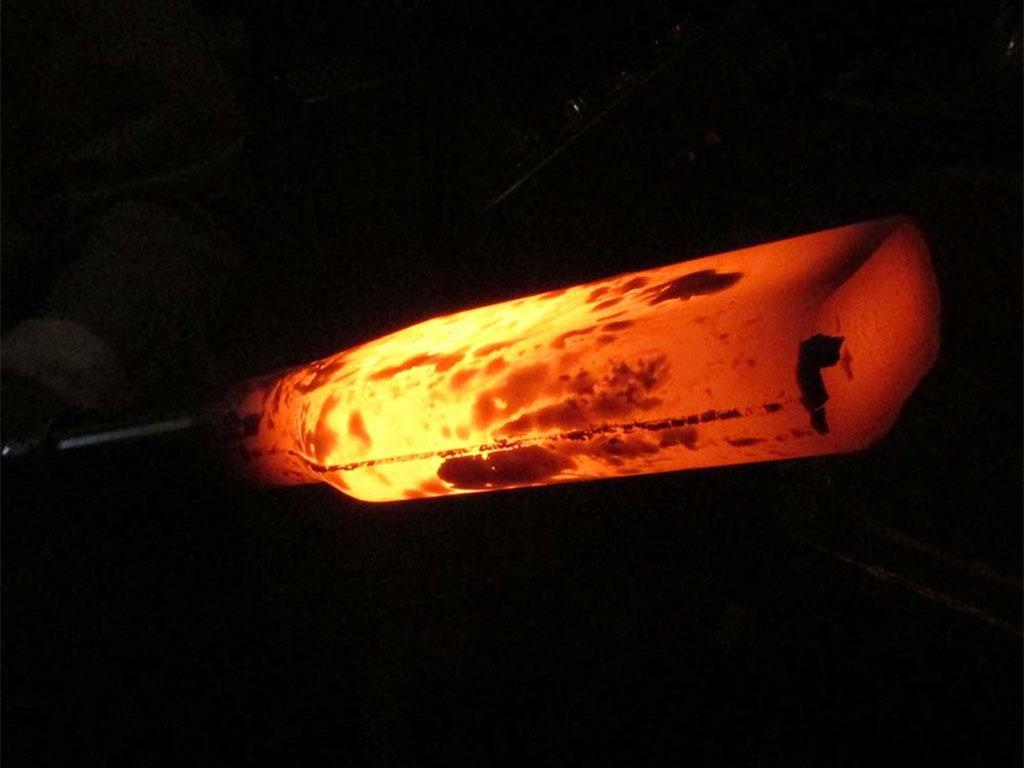 Hot forging metal 67