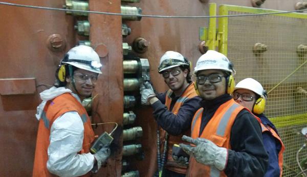 Mine crew